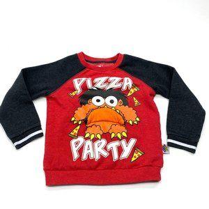 Ryan's World Pizza Party Moe Sweatshirt Sz 5